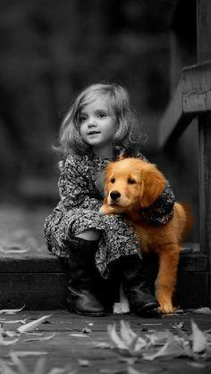 1 Best pets photos by bondita Dogs And Kids, Animals For Kids, Animals And Pets, Baby Animals, Cute Animals, Children Photography, Animal Photography, Cute Kids, Cute Babies