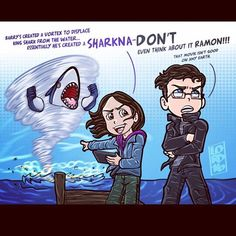 """Sharkna-don't"" #TheFlash 2x15 #LordMesa"