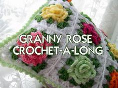 Granny Rose patterns and tutorials now available as instant downloads on Etsy