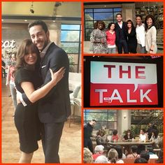 Sheryl Underwood, Sara Gilbert, Marie Osmond, Aisha Tyler & Julie Chen at The Talk