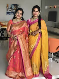 Banarsee Best Indian Sari Click visit link above for more info Simple Sarees, Trendy Sarees, Stylish Sarees, Fancy Sarees, Bridal Silk Saree, Organza Saree, Chiffon Saree, Banaras Sarees, Friendship