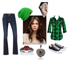 """""""day catching up"""" by alikat666 on Polyvore featuring Palm Beach Jewelry, Dolce Giavonna, Converse and Levi's"""