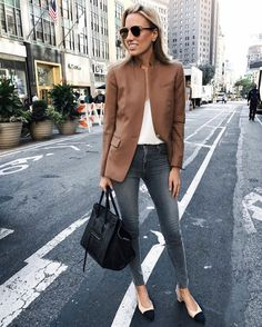 Grey days. @lisadnyc in our Maria High-Rise in Dove. #InMyJBRAND