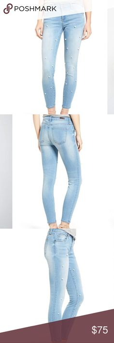 KUT from the Kloth pearl jean KUT from the Kloth pearl jean. Bridgette ankle skinny Kut from the Kloth Jeans Skinny