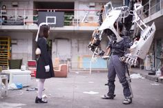 IKEUCHI PRODUCTS Exoskeleton Suit, Nuclear Winter, Real Robots, Lego Mecha, Posture Correction, Armor Concept, Robot Design, Sci Fi Movies, Movie Costumes