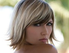 2 Tone Hair Color Ideas | When you are looking for summertime hair color, highlights aren't your ...