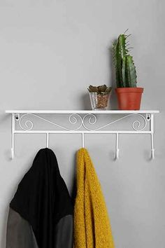 Hooked Scroll Wall Hook - Urban Outfitters 29