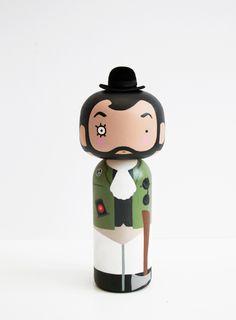 Stanley Kubrick Kokeshi Doll - Sketch.inc