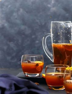 Non Alcoholic Mulled Wine - Cold Remedy for Kids