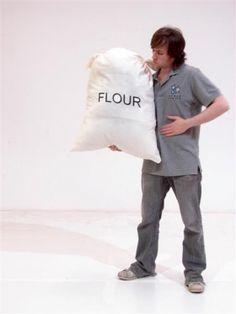 Event Prop Hire: Giant bag of flour
