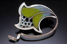 Deb Karash - Colored Pencil, Sterling Silver, Copper, Brass
