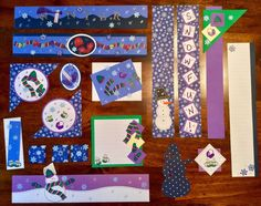 Creative Memories Winter Collection: Borders & Embellishments #CreativeMemories
