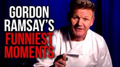 Gordon Ramsay's Top 10 Funniest Moments! Funniest Moments, Funny Moments, Gordon Ramsay Funny, Chef Gordon Ramsey, Scary Gif, Funny Jokes, Funny Pranks, Can't Stop Laughing, Adult Humor