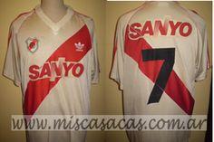 Casacas de River Plate de 1994 ortega