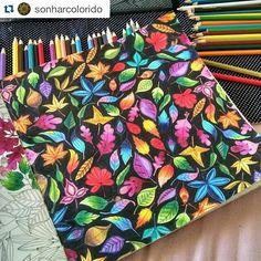 Instagram media desenhoscolorir - Perfeição! By @sonharcolorido #jardimsecreto…