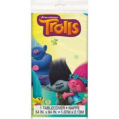 Trolls Plastic Table Cover, 54x84