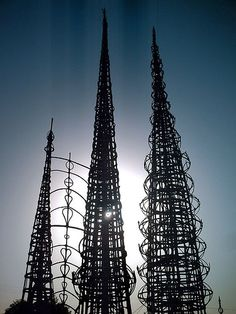 My Grandma grew up down the street from the watts tower from 1938 ...