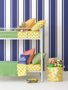 Painting stripes isn't as hard as you think, plus we're showing you 5 designs to choose from #hgtvmagazine http://www.hgtv.com/painting/hgtv-stars-paint-stripes/pictures/index.html?soc=pinterest