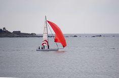 #bateau #bateau voile #dcharger #loisirs #mer #ocean #rouge #sport #voilier