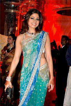 Shamitha Shetty at sister Shilpa's Wedding Reception @ 2009