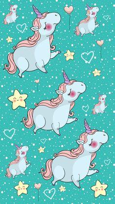 By Artist Unknown. Pastel Wallpaper, Wallpaper Backgrounds, Iphone Wallpaper, Cellphone Wallpaper, Real Unicorn, Magical Unicorn, Unicorn Emoji, Unicorn Pictures, Unicorns And Mermaids