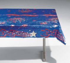 Fourth of July Metallic Table Covers
