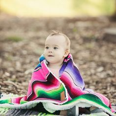 Serape Baby Blanket – Lil Devil's Boutique