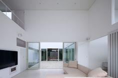 house in ikoma   minimal,white space http://www.kawazoe.biz/
