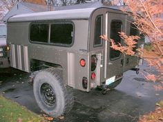 Military trailer mod... looks an awful lot like the back of a h1 wagon