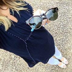Tom's sunnies! #babybump #maternitystyle #maternityfashion #toms #summerstyle #summer #spring #jcrew