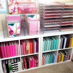 20 Scrapbook Paper Storage Solutions - Part 3 of Craft Storage Solutions Series | Craft Rooms/Home Offices | Pinterest | Scrapbook paper storage ... & 20 Scrapbook Paper Storage Solutions - Part 3 of Craft Storage ...