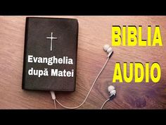 🎚🎙BIBLIA AUDIO DRAMATIZATA - Evanghelia Matei - limba romana - YouTube Audio, Letter Board, Lettering, Youtube, Blog, Bible, Blogging, Letters, Texting