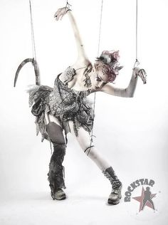 Emilie Autumn a la a puppet on strings....that's one amazingly hot and sexy puppet!