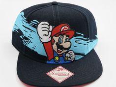 94c67170bc986 Nintendo NES Super Mario Wave Bioworld Snapback Hat  Bioworld  BaseballCap