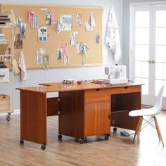 Mobile Craft Desk.