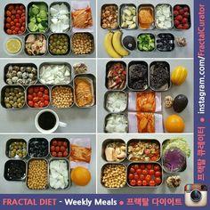 [ 2016년 3~4월 ] ➡ My Weekly Meals° Weekly Meal Plans for March & April, 2016 ➡ 2016년 3월과 4월의 내 한 주간 식단 • ■ I am Fractal Curator • 프랙탈 큐레이터 ● I do Fractal Exercise • 프랙탈 운동법 ● I keep Fractal Diet • 프랙탈 다이어트 ➡ I cook by myself • 식단 직접 구성 & 요리 ➡ Follow my meals & exercises, and stay healthy & robust • #프랙탈큐레이터 #프랙탈다이어트 #프랙탈운동법 #프랙탈운동 #다이어트 #다이어트식단 #피트니스 #체지방커팅 #운동 #헬스타그램 #헬스 #몸짱 #노화방지 // #식단 #주간식단 #월간식단 #다이어트일지 #다이어트일기 ° • #bodytransformation #fractalcurator #fractaldiet #fractalexercise…