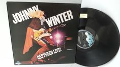 JOHNNY WINTER captured live, SKY 69230 - ROCK, PSYCH, PROG, POP, SHOE GAZING, BEAT. #LP Heads, #BetterOnVinyl, #Vinyl LP's