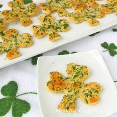 Hungry Happenings: Shamrock Shaped Snack Crisps inspired by a Reader's Photo