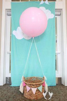 Giant Pink Balloon - Large Pink  Balloon | Giant Balloon | Wedding Balloons | Big Pink Balloons | Baby Shower Balloon #partyideas #hotairballoon #photoprop<br> Baby Shower Balloons, Baby Shower Parties, Baby Shower Gifts, Baby Party, Shower Party, Shower Cake, Helium Filled Balloons, Giant Balloons, Foil Balloons