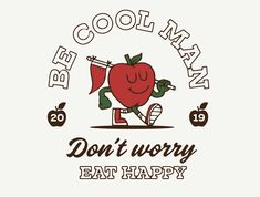 Chill out, work smarter & enjoy the coffee — Freelancing with Aron Leah   Dribbble Design Blog Retro Cartoons, Vintage Cartoon, Badge Design, Logo Design, Eat Happy, Passion Project, Retro Illustration, Freelance Graphic Design, Retro Art