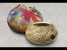 Create Beautiful Carved Gourds with the Fili-Point Burr! - YouTube