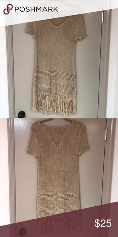 NWOT Cupio Fringe Dress 💋 NWOT Cupio Fringe Dress 💋 Size small. Never worn, just sits in my closet. Super cute fun and flirty! Offers welcome ❤️ Cupio Dresses