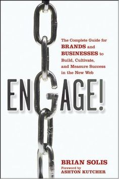 Must read to get a bitter insite in social media engagement! get the updated version! http://www.amazon.com/Engage-Revised-Updated-Businesses-Cultivate/dp/1118003764