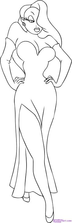 Coloring book: Jessica rabbit coloring pages Jessica Rabbit, Jessica Rabbit Tattoo, Rabbit Tattoos, Jessica And Roger Rabbit, Gothic Fantasy Art, Silhouette Clip Art, Art, Coloring Pages, Christmas Drawing