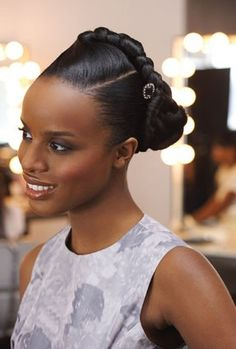 Superb 1000 Images About Glamor Friends On Pinterest African Attire Short Hairstyles For Black Women Fulllsitofus