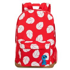 Disney Store Lilo and Stitch Backpack Stitch Backpack, Mini Backpack, Smileys, Fashion Bags, Fashion Backpack, Disney Store Uk, Lilo Et Stitch, Minnie Bow, Pack Your Bags