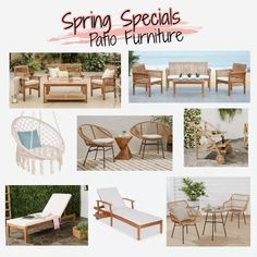 Patio furniture steals- Boho style Florida Style, Florida Girl, Florida Living, Girl Style, Boho Style, Outdoor Furniture Sets, Outdoor Decor, Boho Fashion, Promotion