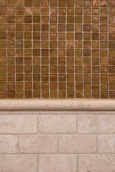 """Pencil Molding Tile """"Gives Eye-Catching Final Touch"""" For Walls #PencilMoldingTile #PencilMolding #MoldingTile"""