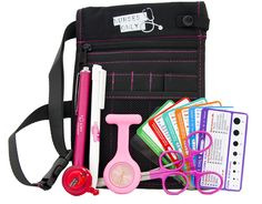 Nurse supplies: ultimate nurses pouch starter kit PINK