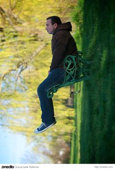 "Forced perspective photography can create some very unusual photographs. ""Take A Seat"" captured by Guzzphoto. Forced perspective photography can create some very unusual photographs. Take A Seat captured by Guzzphoto. Digital Photography School, Photography Classes, Photography Projects, Book Photography, Creative Photography, Amazing Photography, Portrait Photography, Funny Photography, Photography Tutorials"